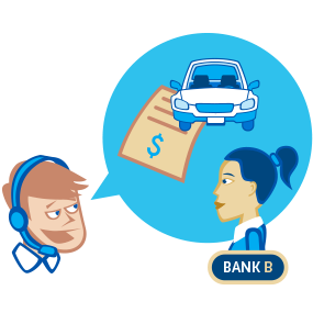 resubmit loan with vehicle