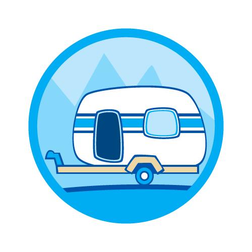 explore australian in a caravan