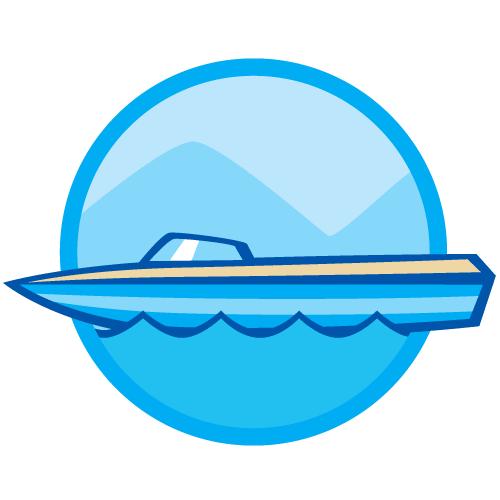 ski boats - jet skis