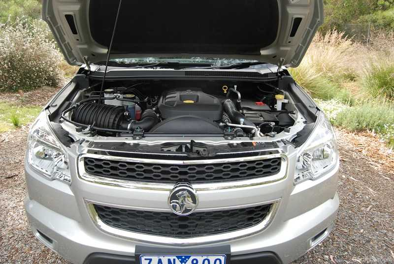 Holden Colorado CSR Engine