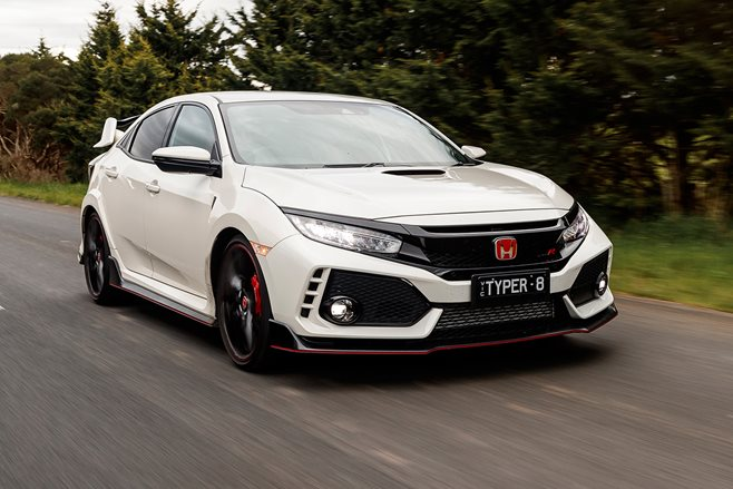 On the road: Honda CIvic Type R 2017