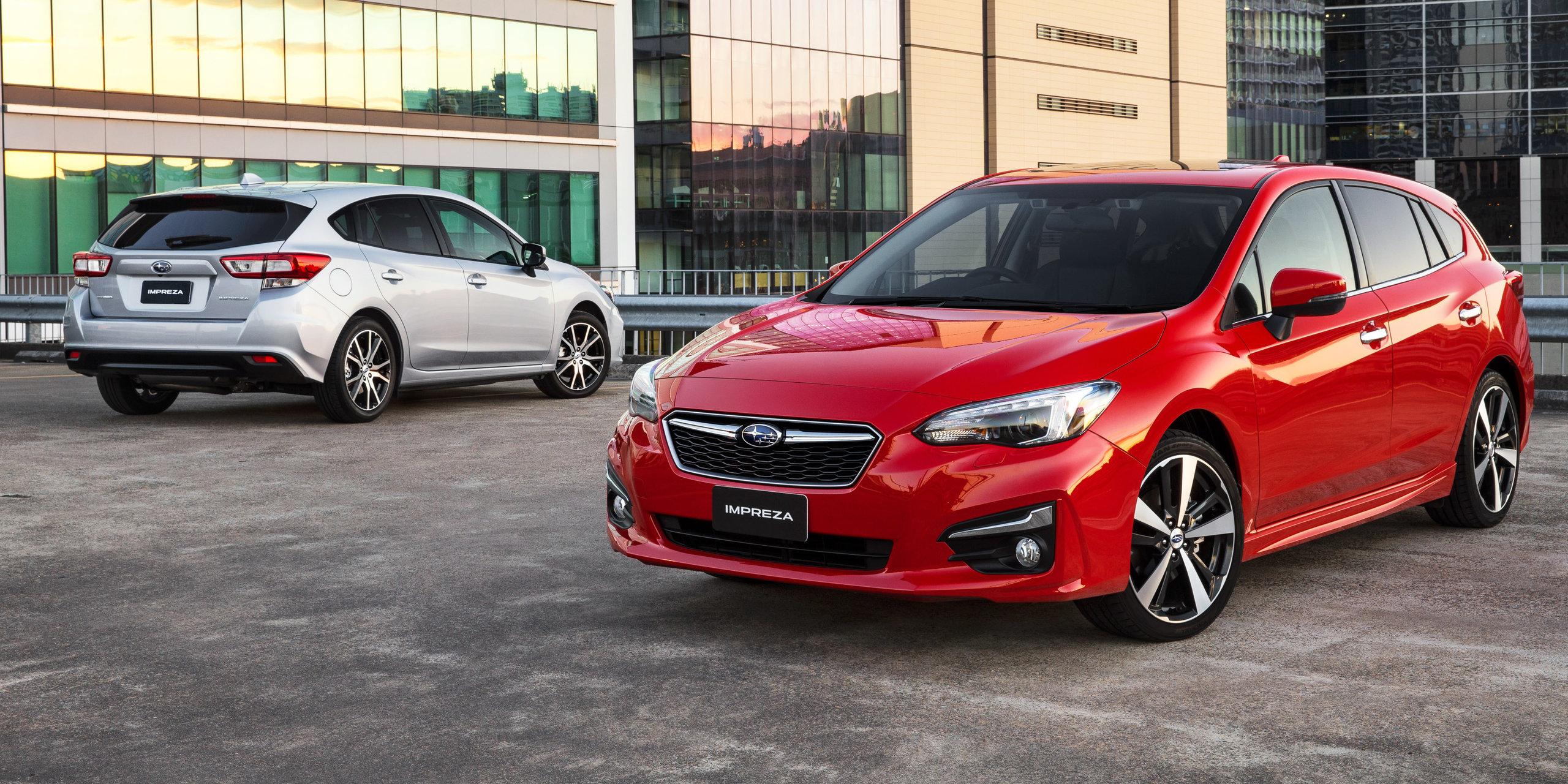 Subaru Impreza 2017 Review Brand New Drivers Chassis