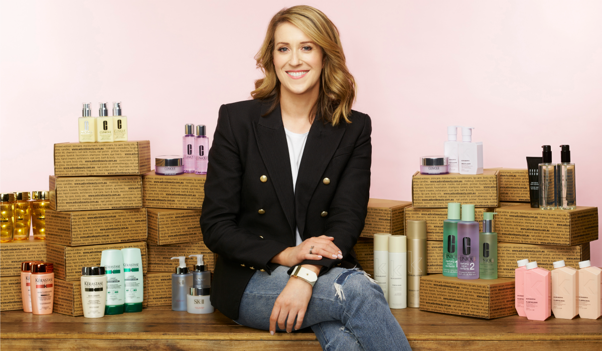 Kate Morrie, founder of Adore Beauty