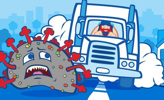Tips for Truck Drivers to Combat Coronavirus