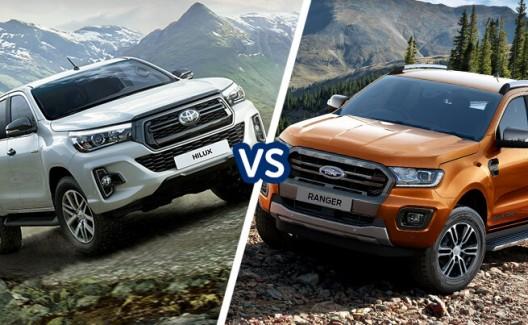 Toyota HiLux vs Ford Ranger