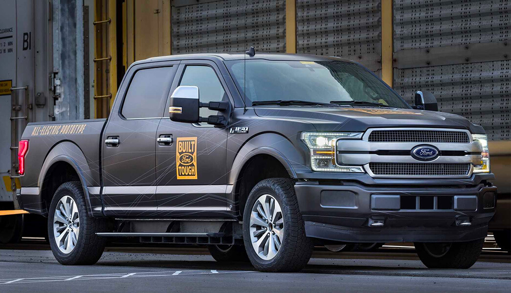 Ford F-150 EV electric ute