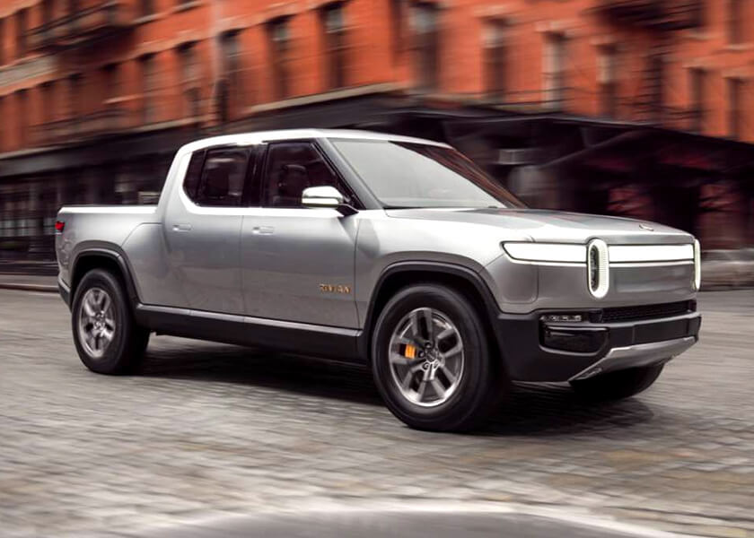 Rivian R1T electric ute