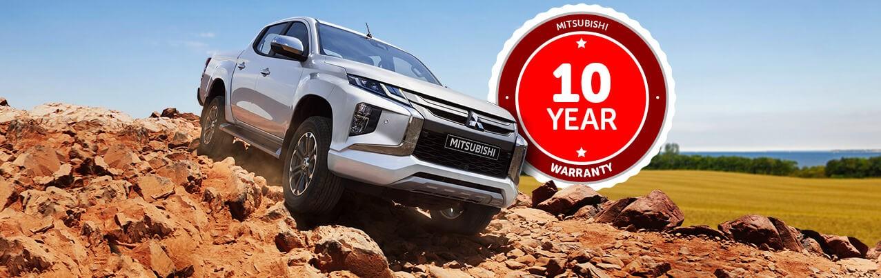 Mitsubishi Introduces 10-Year Car Warranty